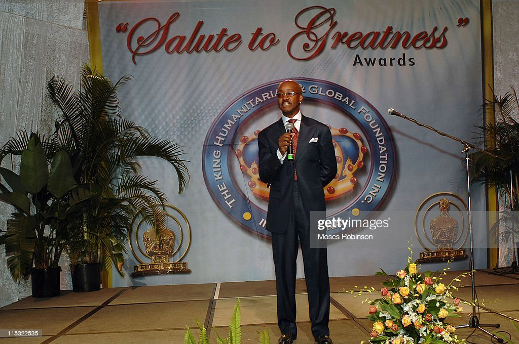 Jonathan Slocum during 2006 Salute to Greatness Awards Dinner at Wyndhamn Nassau Resort and Crystal Palace Casino in New Providence Bahamas United...