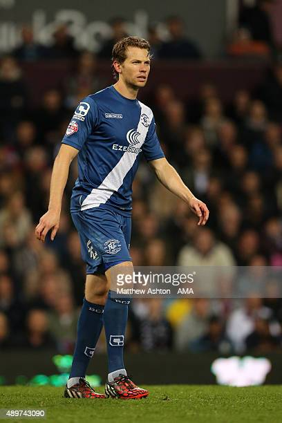 Jonathan Spector of Birmingham City during the Capital One Cup Third Round match between Aston Villa and Birmingham City at Villa Park on September...