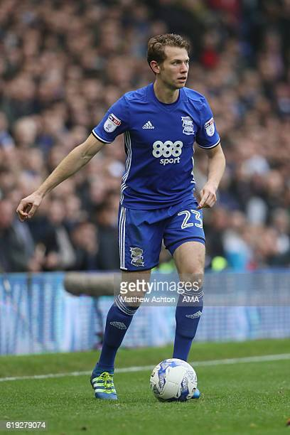 Jonathan Spector of Birmingham City during the Sky Bet Championship match between Birmingham City and Aston Villa at St Andrews on October 30 2016 in...