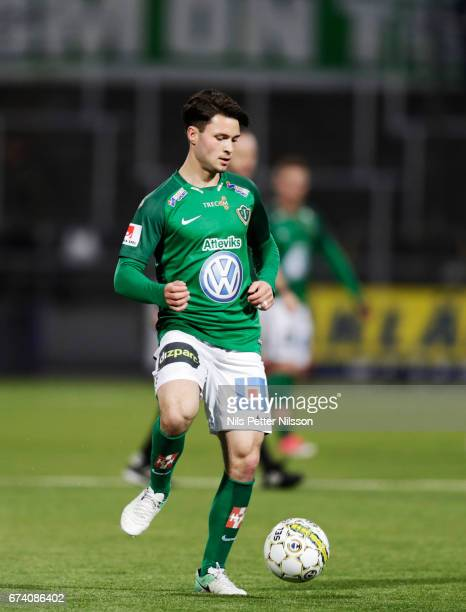 Jonathan Tamimi of Jonkopings Sodra IF during the Allsvenskan match between IFK Norrkoping and Jonkopings Sodra IF at Ostgotaporten on April 27 2017...