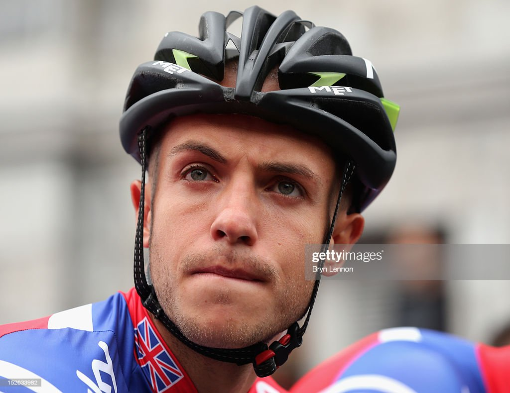 Jonathan Tiernan-Locke of Great Britain lines up at the start of the Men's Elite Road Race on day eight of the UCI Road World Championships on September 23, 2012 in Maastricht, Netherlands.