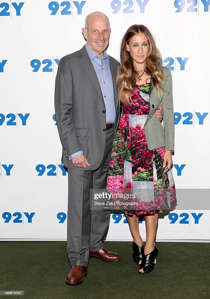 Jonathan Tisch and actress Sarah Jessica Parker attend In Conversation With Jonathan Tisch at 92nd Street Y on May 15 2014 in New York City
