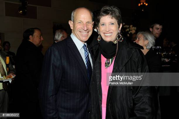 Jonathan Tisch and Beth Rudin DeWoody attend THE WALL STREET JOURNAL's 'GREATER NEW YORK' Launch Celebration at Gotham Hall on April 26th 2010 in New...