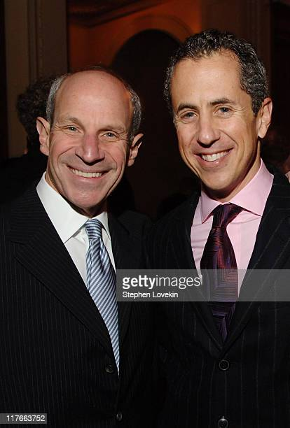 Jonathan Tisch and Danny Meyer during NYC Company Foundation Hosts Leadership in Tourism Award Dinner at Gotham Hall in New York City New York United...