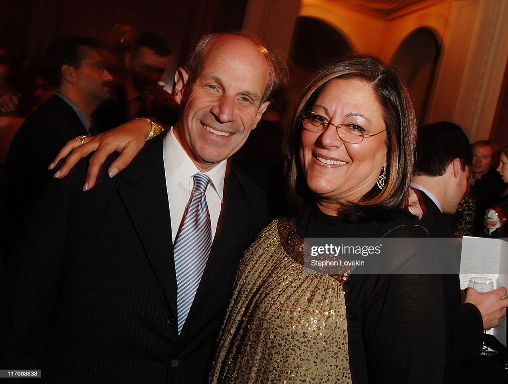 Jonathan Tisch and Fern Mallis during NYC Company Foundation Hosts Leadership in Tourism Award Dinner at Gotham Hall in New York City New York United...