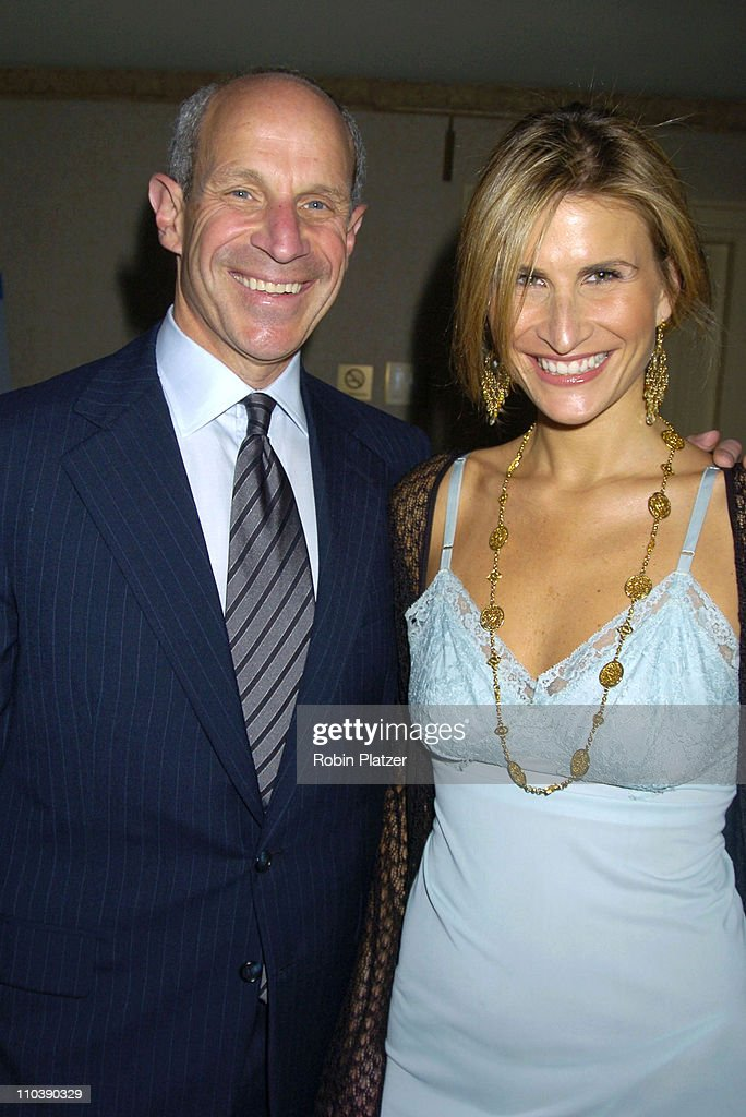Jonathan Tisch and Lauren Kucerak during The Phoenix House Benefit Honors Jeff Zucker with Phoenix Rising Award at The Waldorf Astoria Hotel in New...