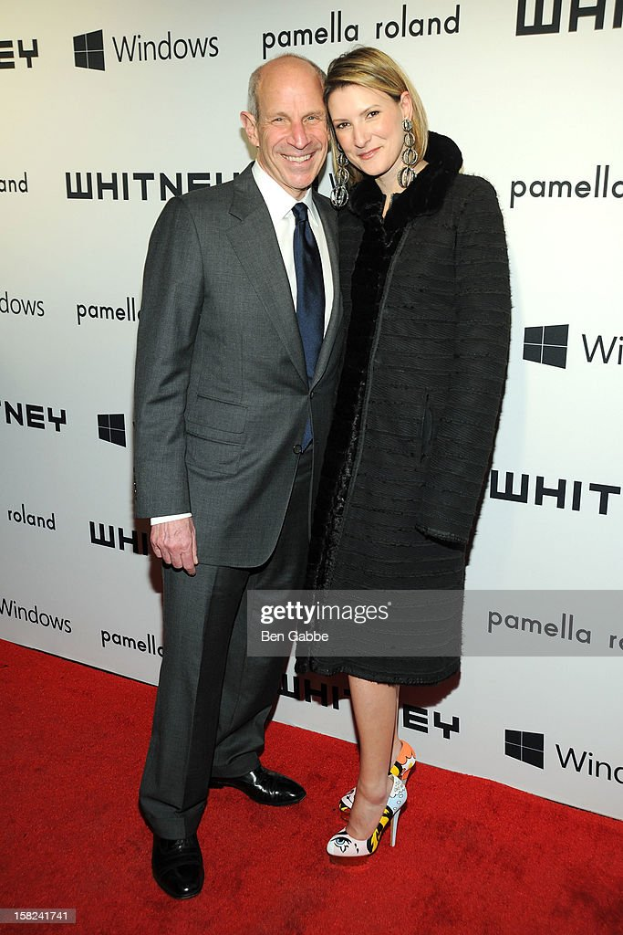 Jonathan Tisch and Lizzie Tisch attend Whitney Museum of American Art's 2012 Studio Party at The Whitney Museum of American Art on December 11, 2012 in New York City.