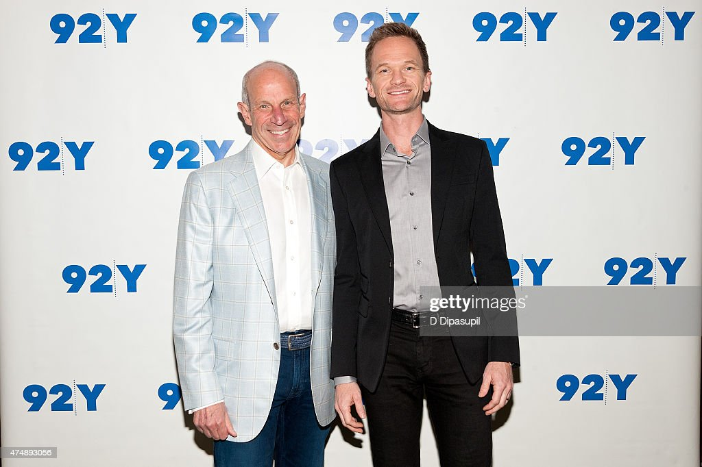 Jonathan Tisch and Neil Patrick Harris attend 92nd Street Y Presents Neil Patrick Harris in Conversation wth Jonathan Tisch at 92nd Street Y on May...