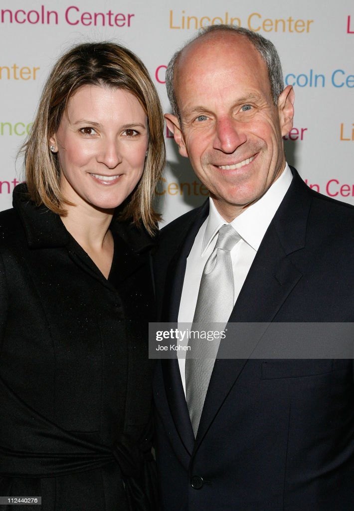 Jonathan Tisch and wife Lizzie arrives at the 2008 Lincoln Center Spring Gala Honoring Robert Iger on April 9 2008 in New York City