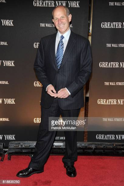 Jonathan Tisch attend THE WALL STREET JOURNAL's 'GREATER NEW YORK' Launch Celebration at Gotham Hall on April 26th 2010 in New York City