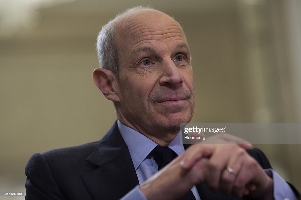 <a gi-track='captionPersonalityLinkClicked' href=/galleries/search?phrase=Jonathan+Tisch&family=editorial&specificpeople=672191 ng-click='$event.stopPropagation()'>Jonathan Tisch</a>, co-chairman of New York-based Loews Corp., listens during an interview at the newly renovated Loews Regency Hotel on Park Avenue in New York, U.S., on Tuesday, Dec. 17, 2013. 'We've been getting a lot of interest in the hotel,' said Tisch. 'We anticipate we'll get good returns on our investment.' Photographer: Victor J. Blue/Bloomberg via Getty Images