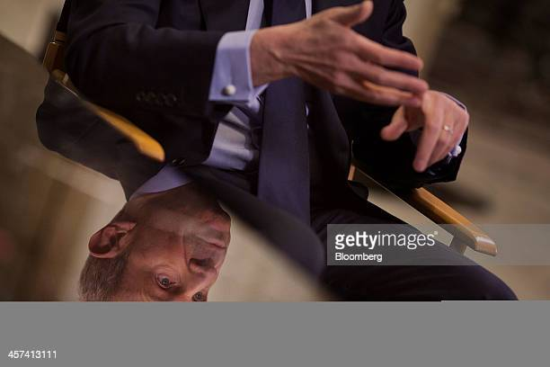 Jonathan Tisch cochairman of New Yorkbased Loews Corp speaks during an interview at the newly renovated Loews Regency Hotel on Park Avenue in New...