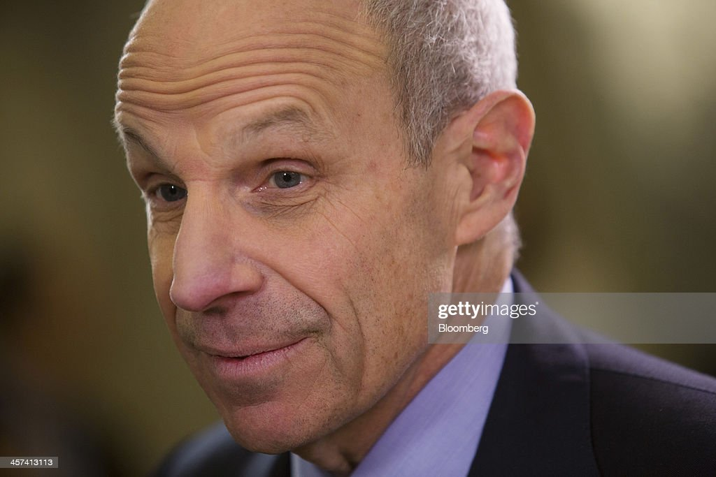 <a gi-track='captionPersonalityLinkClicked' href=/galleries/search?phrase=Jonathan+Tisch&family=editorial&specificpeople=672191 ng-click='$event.stopPropagation()'>Jonathan Tisch</a>, co-chairman of New York-based Loews Corp., speaks during an interview at the newly renovated Loews Regency Hotel on Park Avenue in New York, U.S., on Tuesday, Dec. 17, 2013. 'We've been getting a lot of interest in the hotel,' said Tisch. 'We anticipate we'll get good returns on our investment.' Photographer: Victor J. Blue/Bloomberg via Getty Images