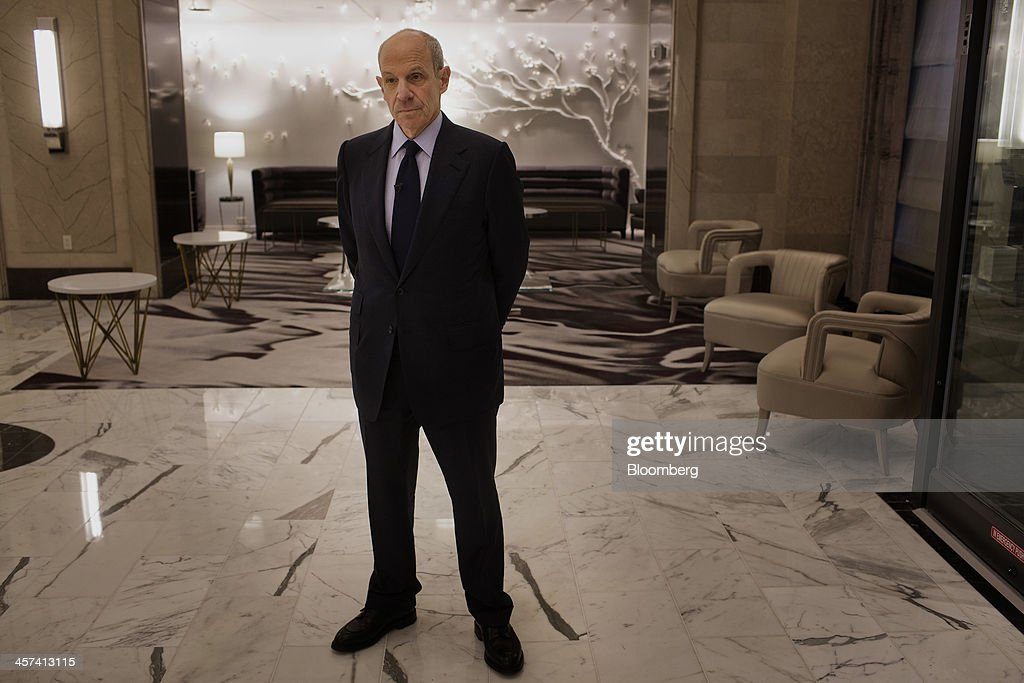<a gi-track='captionPersonalityLinkClicked' href=/galleries/search?phrase=Jonathan+Tisch&family=editorial&specificpeople=672191 ng-click='$event.stopPropagation()'>Jonathan Tisch</a>, co-chairman of New York-based Loews Corp., stands in the lobby of the newly renovated Loews Regency Hotel on Park Avenue in New York, U.S., on Tuesday, Dec. 17, 2013. 'We've been getting a lot of interest in the hotel,' said Tisch. 'We anticipate we'll get good returns on our investment.' Photographer: Victor J. Blue/Bloomberg via Getty Images