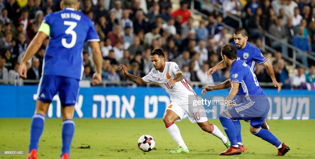 Israel v Spain - FIFA 2018 World Cup Qualifier