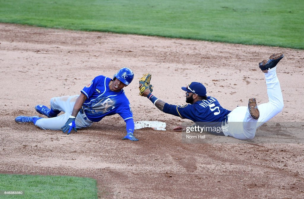 Kansas City Royals v Milwaukee Brewers
