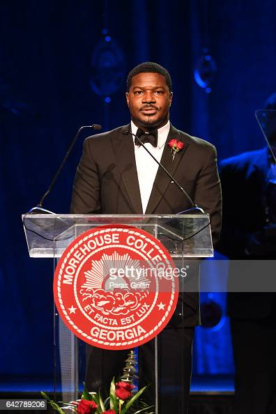 Jonathan Walton onstage at Morehouse College 150th Anniversary 'Reflections of Excellence' at Ray Charles Performing Arts Center at Morehouse College...