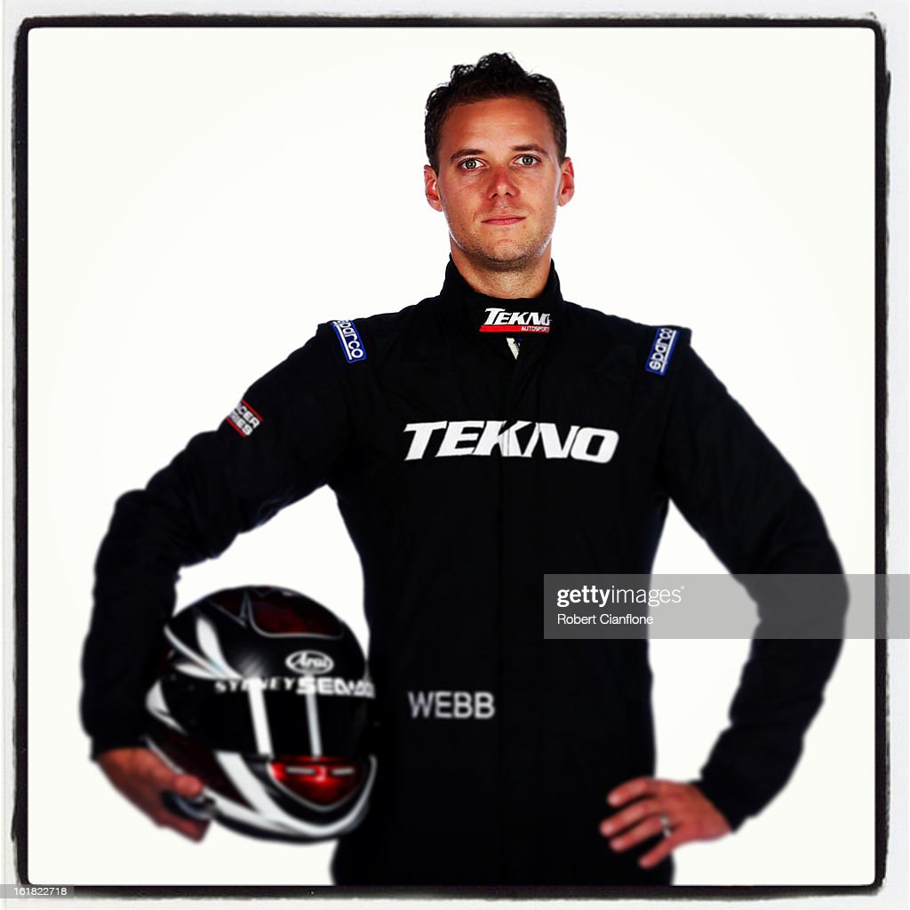 Jonathan Webb of Tekno AutoSports poses during a V8 Supercars driver portrait session at Eastern Creek on February 15, 2013 in Sydney, Australia.