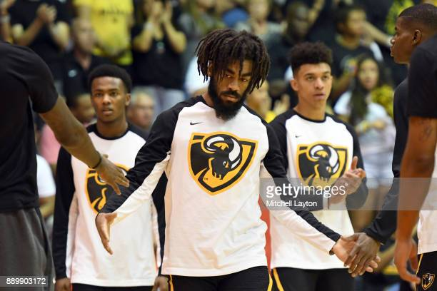 Jonathan Williams of the Virginia Commonwealth Rams is introduced before a consultation college basketball game at the Maui Invitational against the...