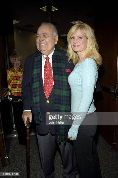 Jonathan Winters and Bonnie Hunt during Academy of Television Arts Sciences Activities Committee Presents 'Jonathan Winters Is Turning 80 And Your...