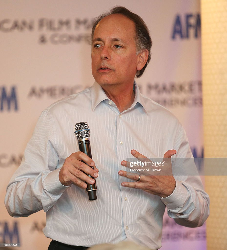 Jonathan Wolf Managing Director of the American Film Market speaks during The 2014 American Film Market at the Loews Santa Monica Beach Hotel on...
