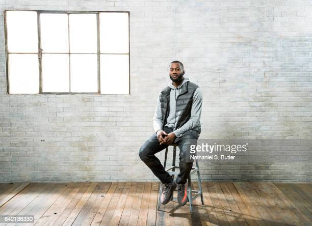 Jonathon Simmons of the San Antonio Spurs poses for a photo during the 2017 AllStar Media Circuit at the Ritz Carlton in New Orleans LA NOTE TO USER...