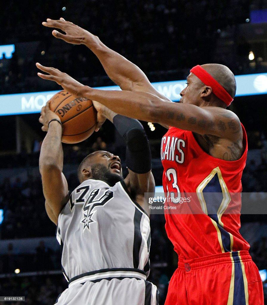 New Orleans Pelicans v San Antonio Spurs