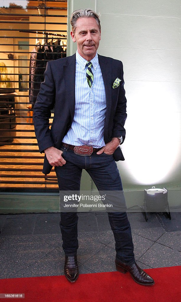 Jonathon Ward attends the Australian Walk of Style event at the Intersection in Paddington on April 2, 2013 in Sydney, Australia.