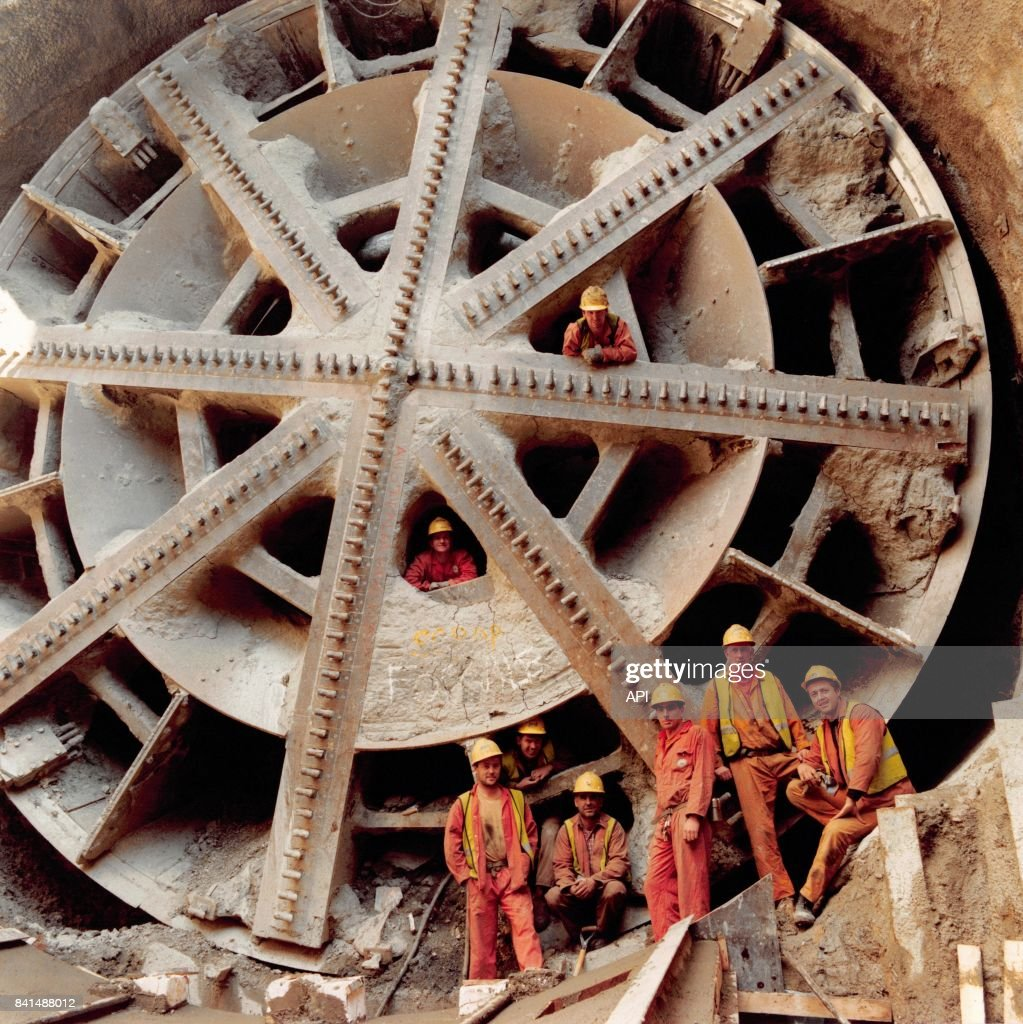 1 December 1990 saw the French and British sides of the Channel Tunnel meeting up, nearly 200 years after the first scheme was proposed and over 100 years after the first test tunnels for a previous attempt had been dug