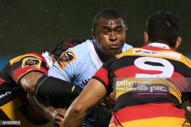 Jone Macilai of Northland during the round four Mitre 10 Cup match between Northland and Waikato at Toll Stadium on September 9 2017 in Whangarei New...