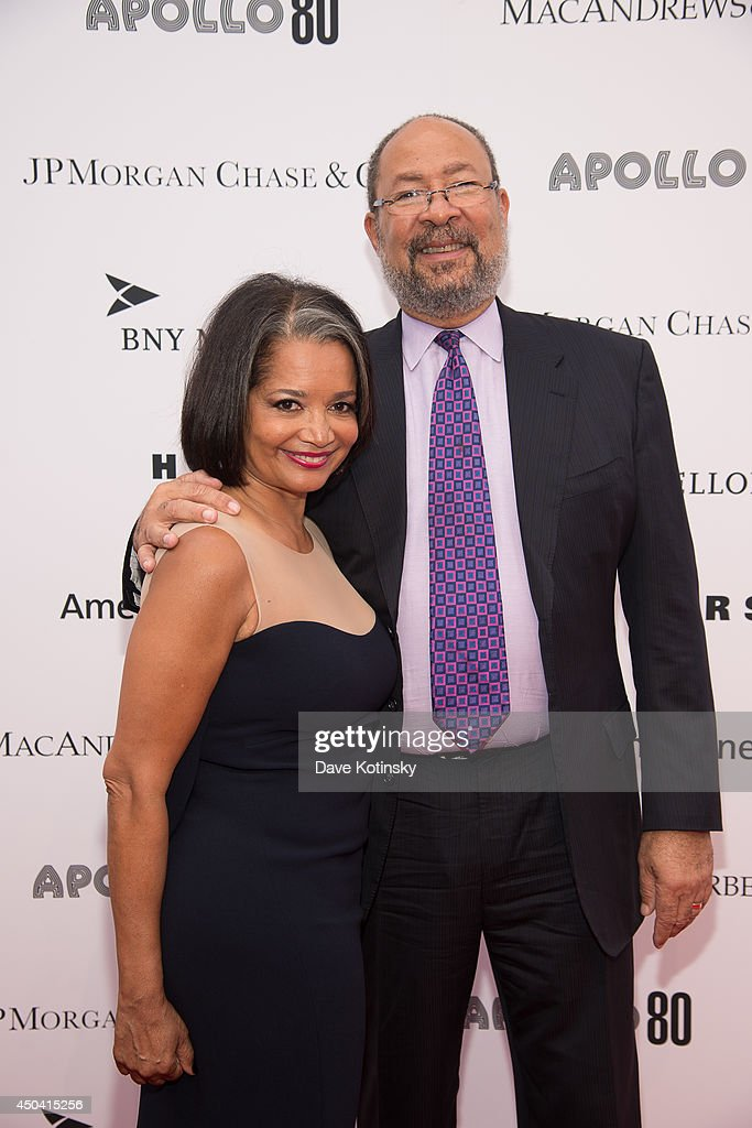 Jonelle Procope and <a gi-track='captionPersonalityLinkClicked' href=/galleries/search?phrase=Richard+Parsons&family=editorial&specificpeople=207090 ng-click='$event.stopPropagation()'>Richard Parsons</a> attend the Apollo Spring Gala and 80th Anniversary Celebration>> at The Apollo Theater on June 10, 2014 in New York City.
