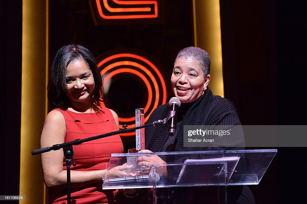 Jonelle Procope, Apollo Theater President and CEO and JoAnn Price attend 2013 Dining With The Divas at The Apollo Theater on February 14, 2013 in New York City.