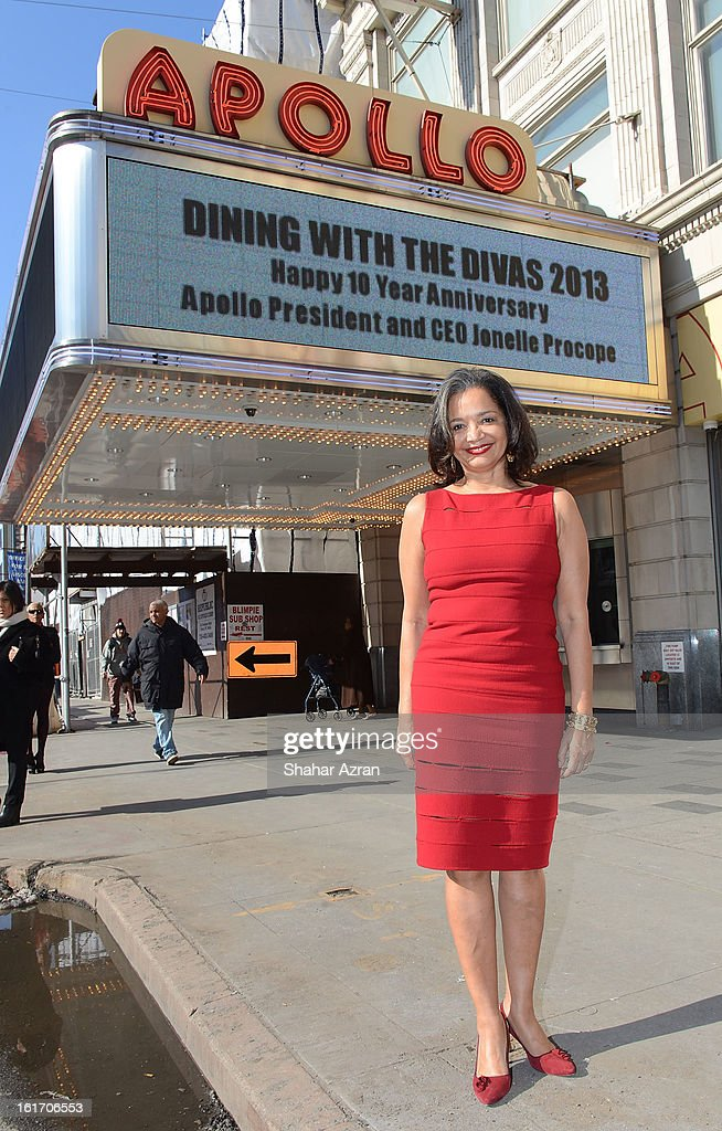 Jonelle Procope, Apollo Theater President and CEO attends 2013 Dining With The Divas at The Apollo Theater on February 14, 2013 in New York City.