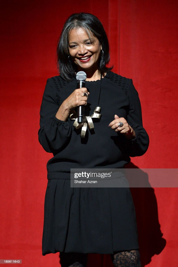 Jonelle Procope, Apollo Theater President and CEO, attends the opening night of 'James Brown: Get On The Good Foot - A Celebration in Dance' at The Apollo Theater on October 22, 2013 in New York City.