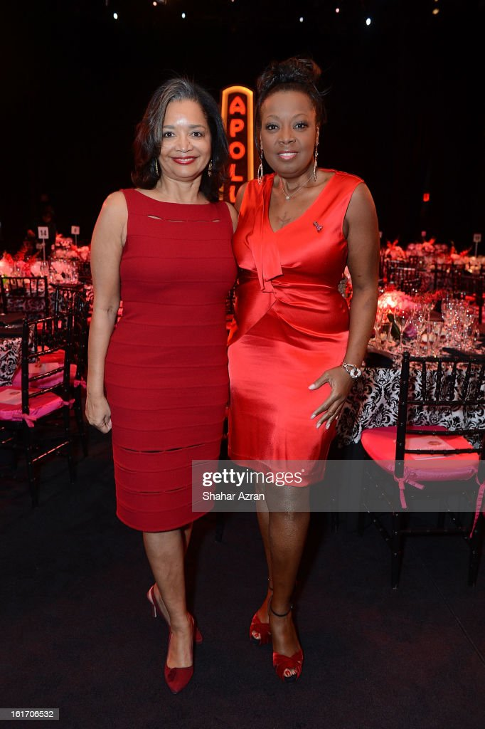 Jonelle Procope, Apollo Theater President and CEO with <a gi-track='captionPersonalityLinkClicked' href=/galleries/search?phrase=Star+Jones&family=editorial&specificpeople=202645 ng-click='$event.stopPropagation()'>Star Jones</a> attend 2013 Dining With The Divas at The Apollo Theater on February 14, 2013 in New York City.