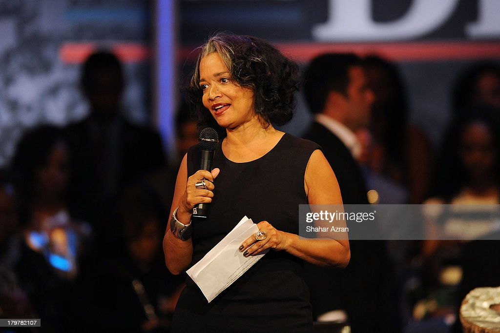 Jonelle Procope, Apollo Theater President & CEO attends 'Advancing The Dream: Live From The Apollo' Hosted By Reverend Al Sharpton at The Apollo Theater on September 6, 2013 in New York City.