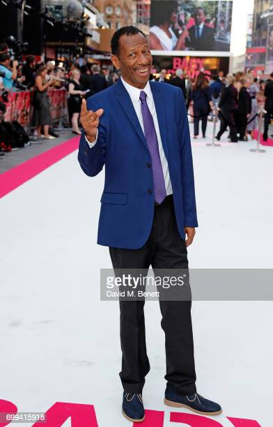 Jones attends the European Premiere of 'Baby Driver' at Cineworld Leicester Square on June 21 2017 in London United Kingdom