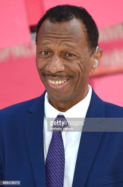 Jones attends the European premiere of 'Baby Driver' on June 21 2017 in London United Kingdom