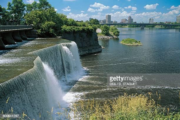 Jones Falls Rideau Canal Ottawa Ontario Canada