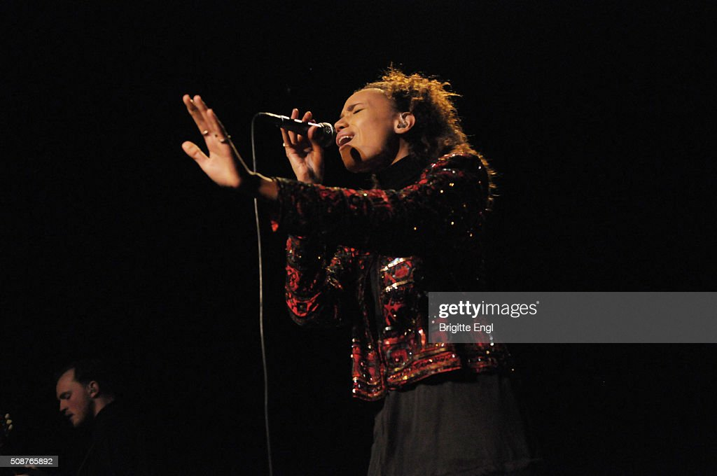 Jones performs at ICA on February 3 2016 in London England