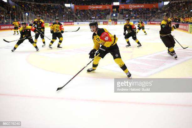 Joni Ikonen of KalPa Kuopio in action during the Champions Hockey League match between Stavanger Oilers and KalPa Kuopio at the DNB Arena on October...