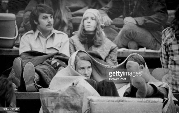 Joni Mitchell Fans Bundle Up To Keep Warm During Steady Drizzle Which Cancelled Sunday Concert Concert was reset Monday afternoon Second show at 8 pm...