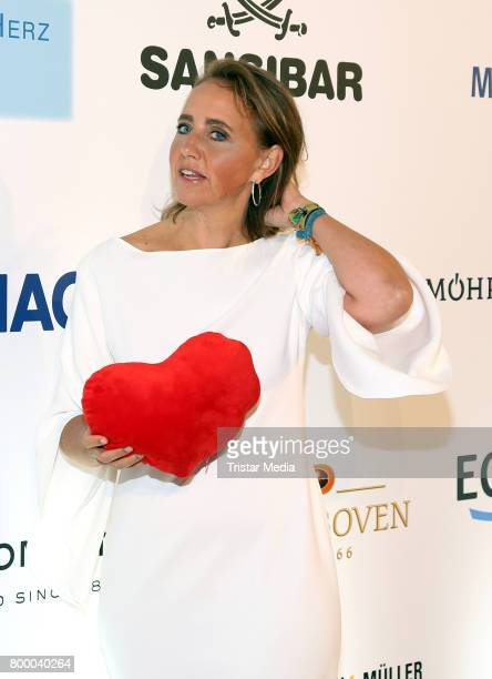 Jonica Jahr attends the Charity Evening 'Das kleine Herz im Zentrum' at Curio Haus on June 22 2017 in Hamburg Germany