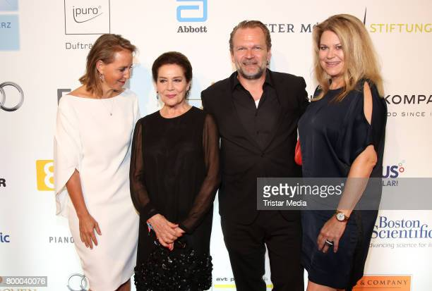 Jonica Jahr German actress Hannelore Elstner Sebastian Knauer and his wife Dorothee Knauer attend the Charity Evening 'Das kleine Herz im Zentrum' at...