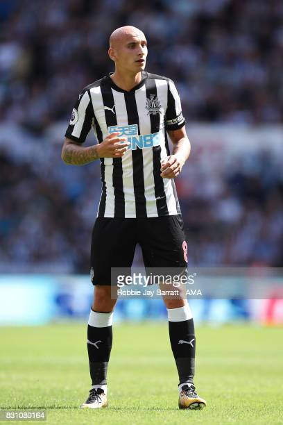 Jonjo Shelvey of Newcastle United during the Premier League match between Newcastle United and Tottenham Hotspur at St James Park on August 13 2017...
