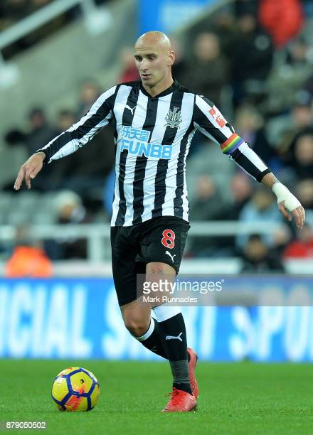 Jonjo Shelvey of Newcastle United in action during the Premier League match between Newcastle United and Watford at St James Park on November 25 2017...