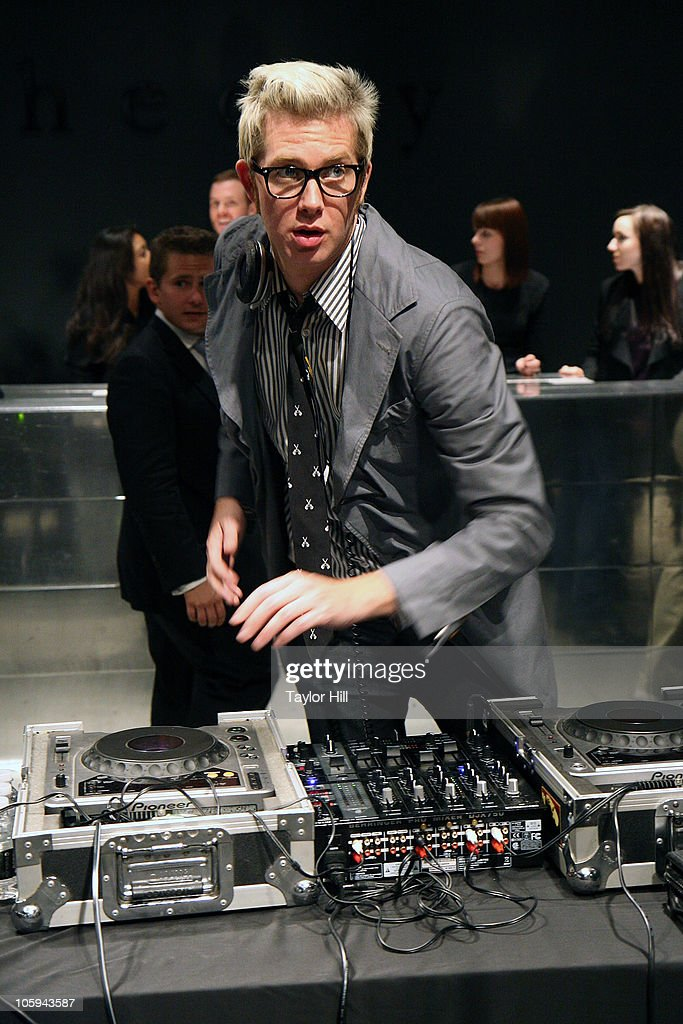 DJ JonJon Battles performs during the Trevor's Fall Fete at Theory Flagship Store on October 21, 2010 in New York City.