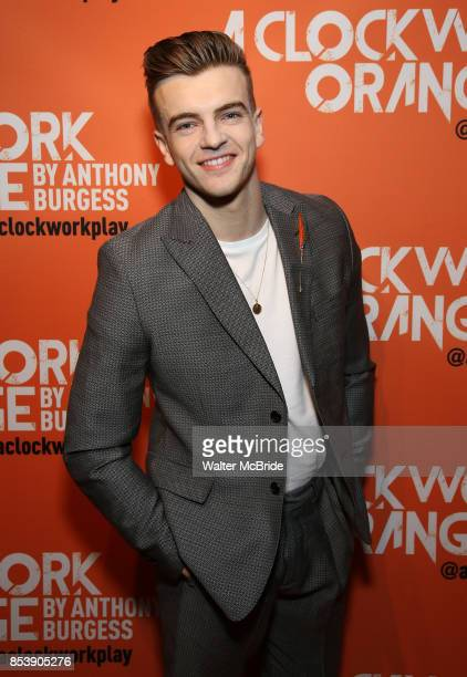 Jonno Davies attends the opening night after party for 'A Clockwork Orange' at the New World Stages on September 25 2017 in New York City