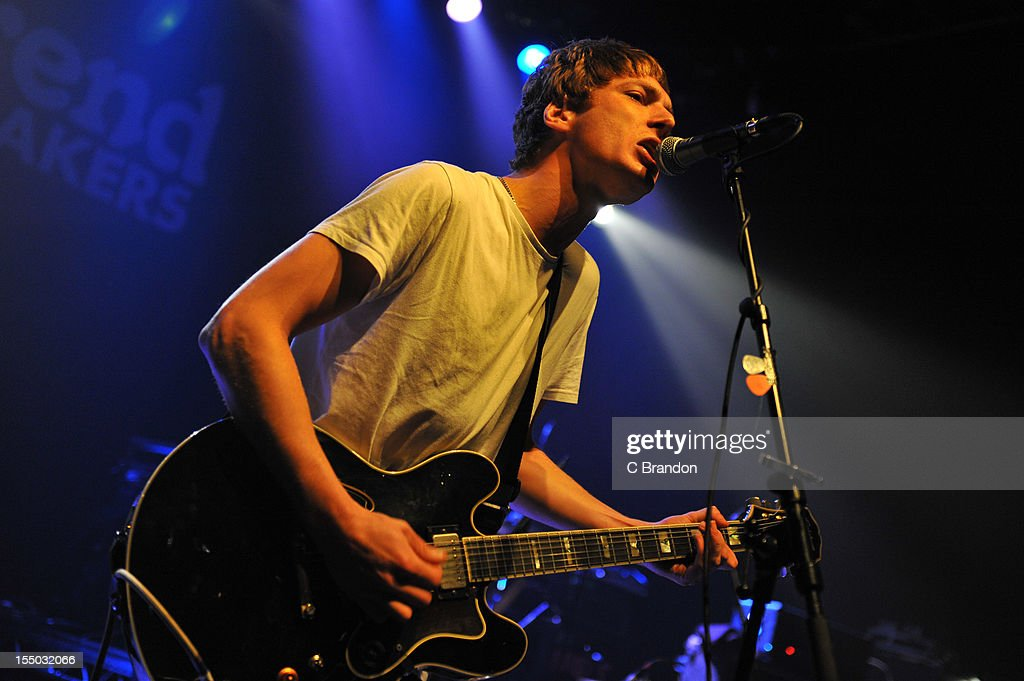 Jonny Brown of Twisted Wheel performs on stage at Shepherds Bush Empire on October 26, 2012 in London, United Kingdom.