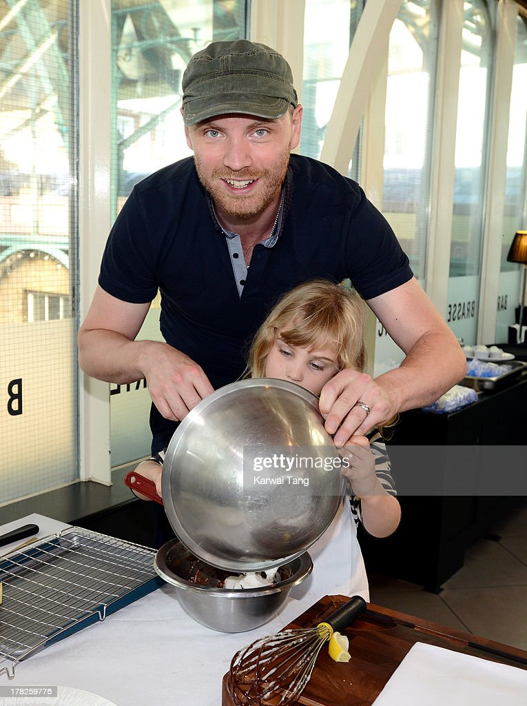 <a gi-track='captionPersonalityLinkClicked' href=/galleries/search?phrase=Jonny+Buckland&family=editorial&specificpeople=235773 ng-click='$event.stopPropagation()'>Jonny Buckland</a> attends the Launch of a New Childrens App 'Henri Le Worm' held at Brasserie Blanc on August 28, 2013 in London, England.